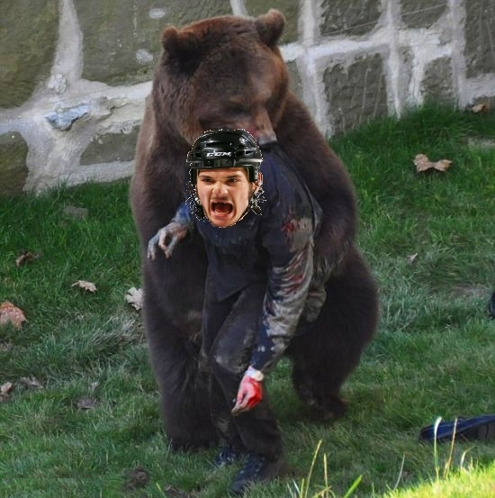Bear attack Flyers