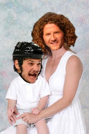 Mommy and Baby Carcillo